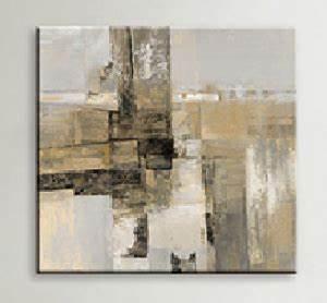 Peinture Beige Doré : tableau abstrait d coration moderne art abstrait ejrac ~ Zukunftsfamilie.com Idées de Décoration