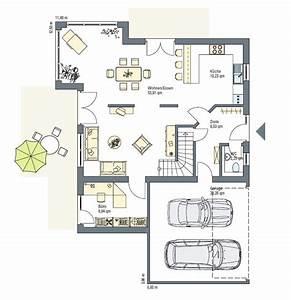 Haus Grundriss Ideen Einfamilienhaus : einfamilienhaus mit doppelgarage grundriss ~ Lizthompson.info Haus und Dekorationen