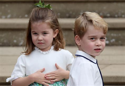 prince george princess charlotte  receive