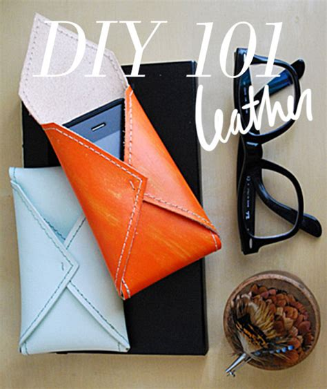 drawer pulls and diy 101 leather projects design sponge