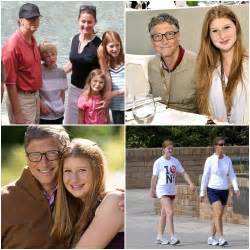 Bill Gates and His Family