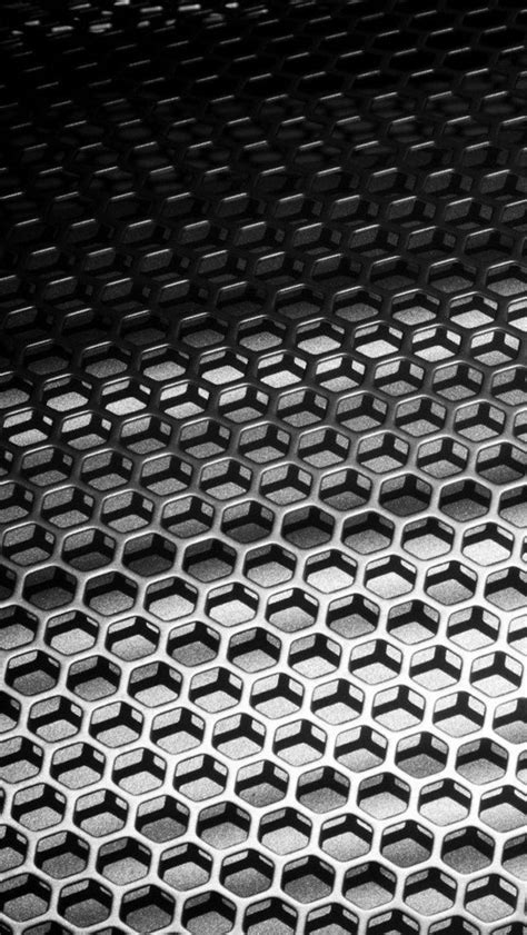 metal honeycomb  iphone wallpapers
