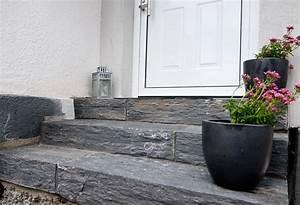 Treppenstufen Außen Granit : au entreppen backes schiefer naturstein ~ Frokenaadalensverden.com Haus und Dekorationen