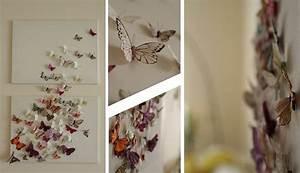 Butterfly canvas wall art diy wallartideas
