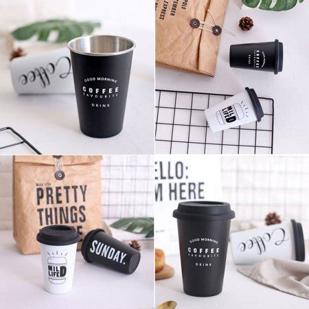 Shop for more disposable cups available online at walmart.ca. Original Reusable Stainless Steel Coffee Cup Travel Mug Travel Takeaway & Lid UK | Walmart Canada