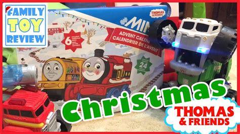 thomas friends minis advent calendar christmas train surprise