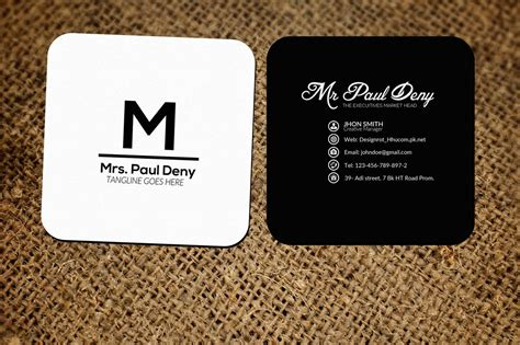 small social media business card  business cards