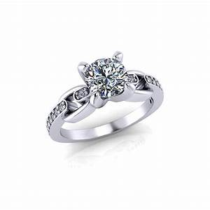 linked diamond engagement ring jewelry designs With linked wedding rings