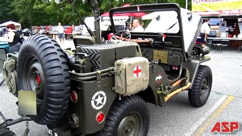 1952 Willys M38 Military Jeep (asp) Full Hd