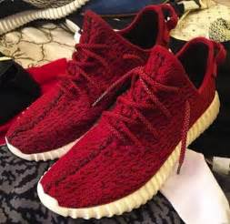 Adidas Boost 350 Red Yeezy