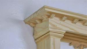 Classic Woodworking Project ! Classic Greek Style Wall