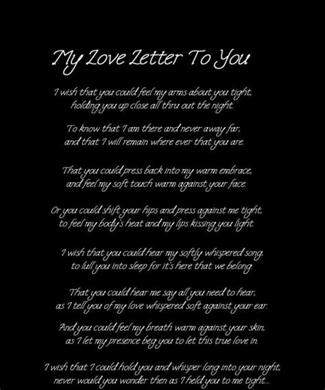 love letter   letter  respect  conveys deep