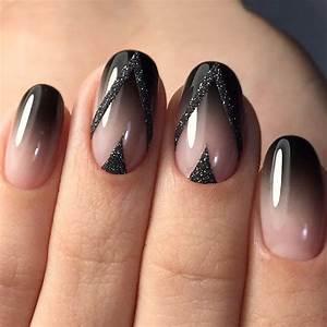 Round Black Acrylic Nails | www.pixshark.com - Images ...