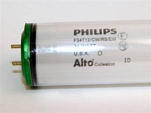Safety Coated Light Bulbs 34 Watt 48 Inch T12 Cool White Safety Coated Fluorescent