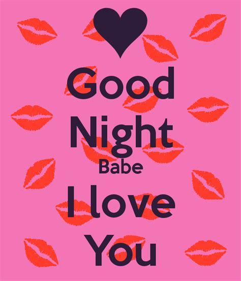 I Love You Good Night Quotes Quotesgram