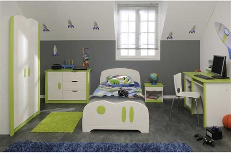 chambre enfants garcon davaus chambre garcon gris et vert avec des idées