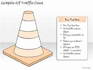 1814 Business Ppt Diagram Graphic Of Traffic Cone