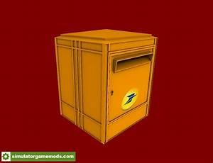 Boite Aux Lettres La Poste : fs15 boite aux lettres de la poste francaise v1 0 ~ Melissatoandfro.com Idées de Décoration