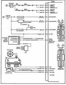 I Need A Wiring Schematic For An 88 C10 Ecm Identifing Pin