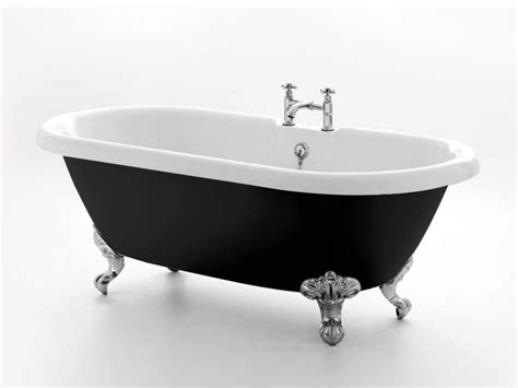 freistehende acryl badewanne freistehende badewanne carlton black acryl nostalgie duo 175 5 cm gl 228 nzend