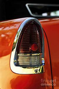 U0026 39 55 Chevy Bel Air Tail Light Photograph By Charles Abrams