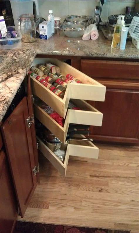 kitchen corner cabinet storage ideas