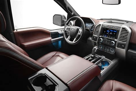 ford f150 interior 2018 ford f 150 new exterior and interior style features