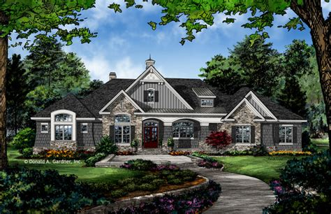 The Chaucer House Plan 1379 Craftsman Exterior Other