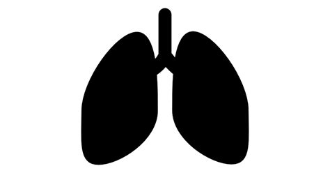 free home design plans lungs silhouette free icons