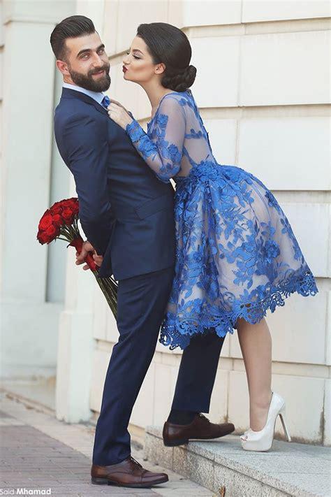cute long sleeve royal blue homecoming dress custom