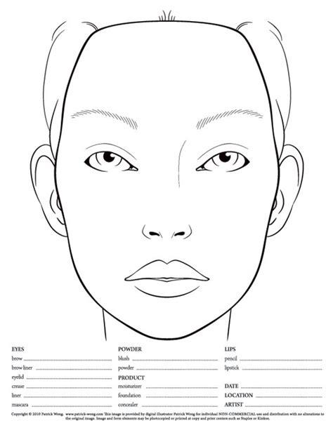 wundervoller blog face charts