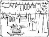Kleurplaat Kleurplaten Wasdraad Malvorlage Clothesline Malvorlagen Kiddicolour Wasmachine Kleurprent Colorier 01k Hoed Kiddicoloriage Kiddi Kleurprentjes Regenschirm Uitprinten sketch template