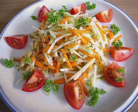 gurken und tomaten kohlrabisalat mit m 246 hren gurken und tomaten gisela m chefkoch de