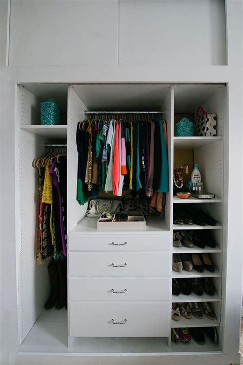 Low Cost Closet Organization Ideas by Closet Organization Dress Me Up Closet