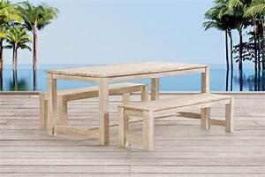 Gartenmöbel Set Holz Mit Bank : gartenm bel gartentisch holz lounge sessel tisch bank minerva tischset ~ Eleganceandgraceweddings.com Haus und Dekorationen