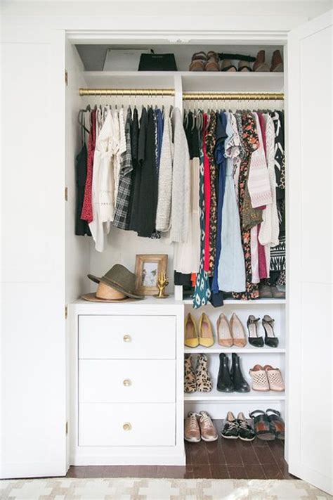 How To Organize Small Closets by 13 Best Small Closet Organization Ideas Storage Tip For
