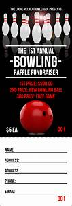 Print Free Raffle Tickets Bowling Classic Raffle Ticket