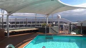 MSC Preziosa Yacht Club The One Pool Deck YouTube