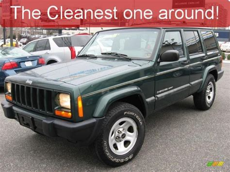 2001 forest green pearlcoat jeep sport 4x4 27051302 gtcarlot car color galleries