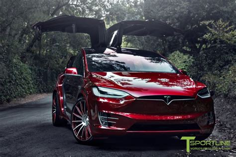 Signature-red-tesla-model-x-22-inch-wheel-mx114-signature ...