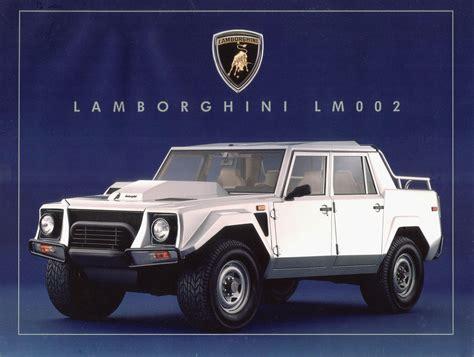 Lamborghini LM002 – A Blockbusting Raging Machine