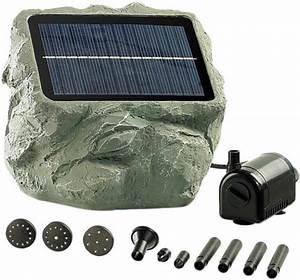 Fontaine Solaire Pour Bassin : achat fontaine de bassin solaire 39 biosph re 39 ~ Dailycaller-alerts.com Idées de Décoration