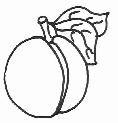 Coloring Pages Peaches Peach Halloween