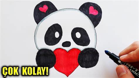 sevimli panda cizimi kawaii panda   draw  cute