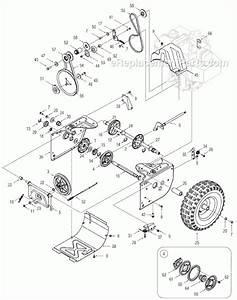 Yard Machine Snowblower Parts Diagram