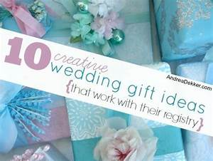 10 creative wedding gift ideas that work with their With creative wedding gift ideas
