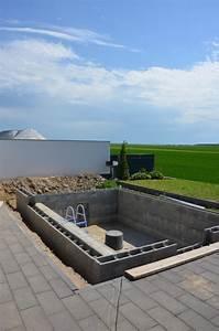 Pool Terrasse Selber Bauen : schwimmbecken haustechnik piscine diy piscine spa und piscine ~ Orissabook.com Haus und Dekorationen
