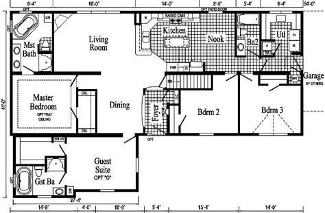 extended family ii modular home pennflex series