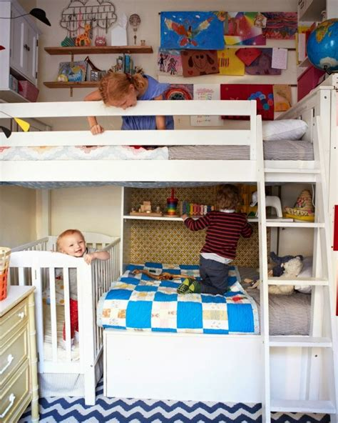chambre enfant gain de place 25 id 233 es de chambres partag 233 es pour des enfants gain de