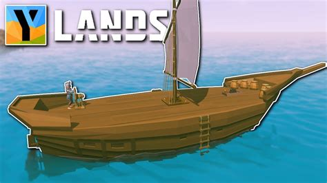 How To Make A Boat Ylands by Building A Ship Ylands Gameplay Ylands Building